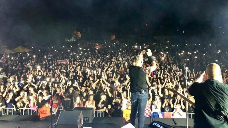 Koncert za pamćenje: Marko Perković Thompson zapalio Skradin