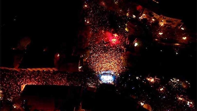 Preko 50 000 ljudi zablokiralo Široki Brijeg, Thompson oduševio fanove velikim koncertom